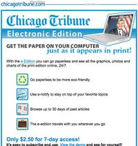 Tribune offer