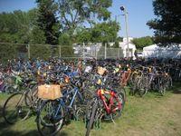 Fair bike park