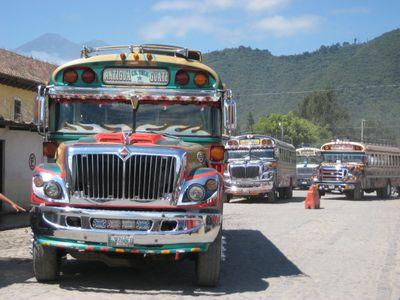Antigua buses